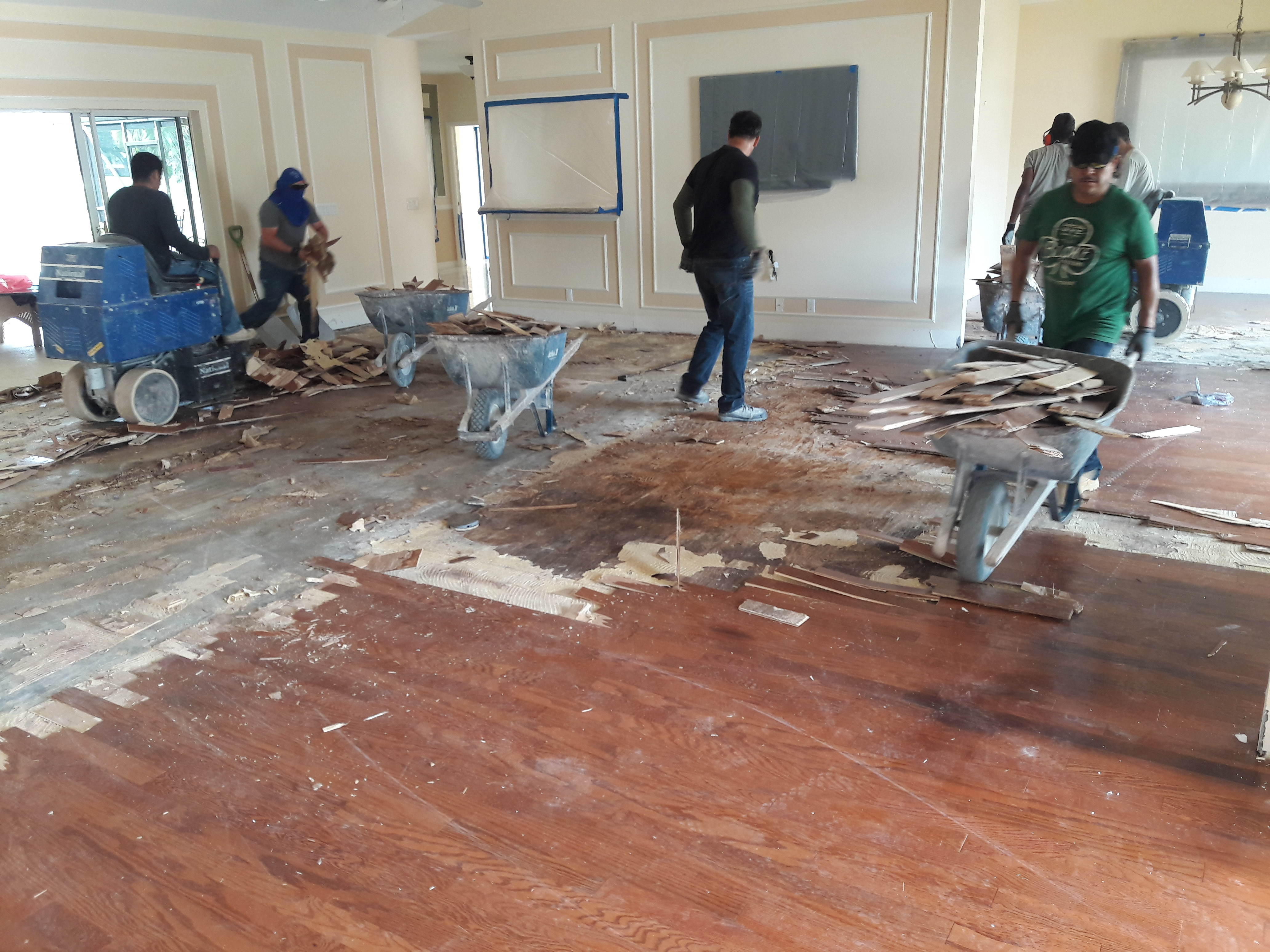 what is wood floor removal coral gables fl?