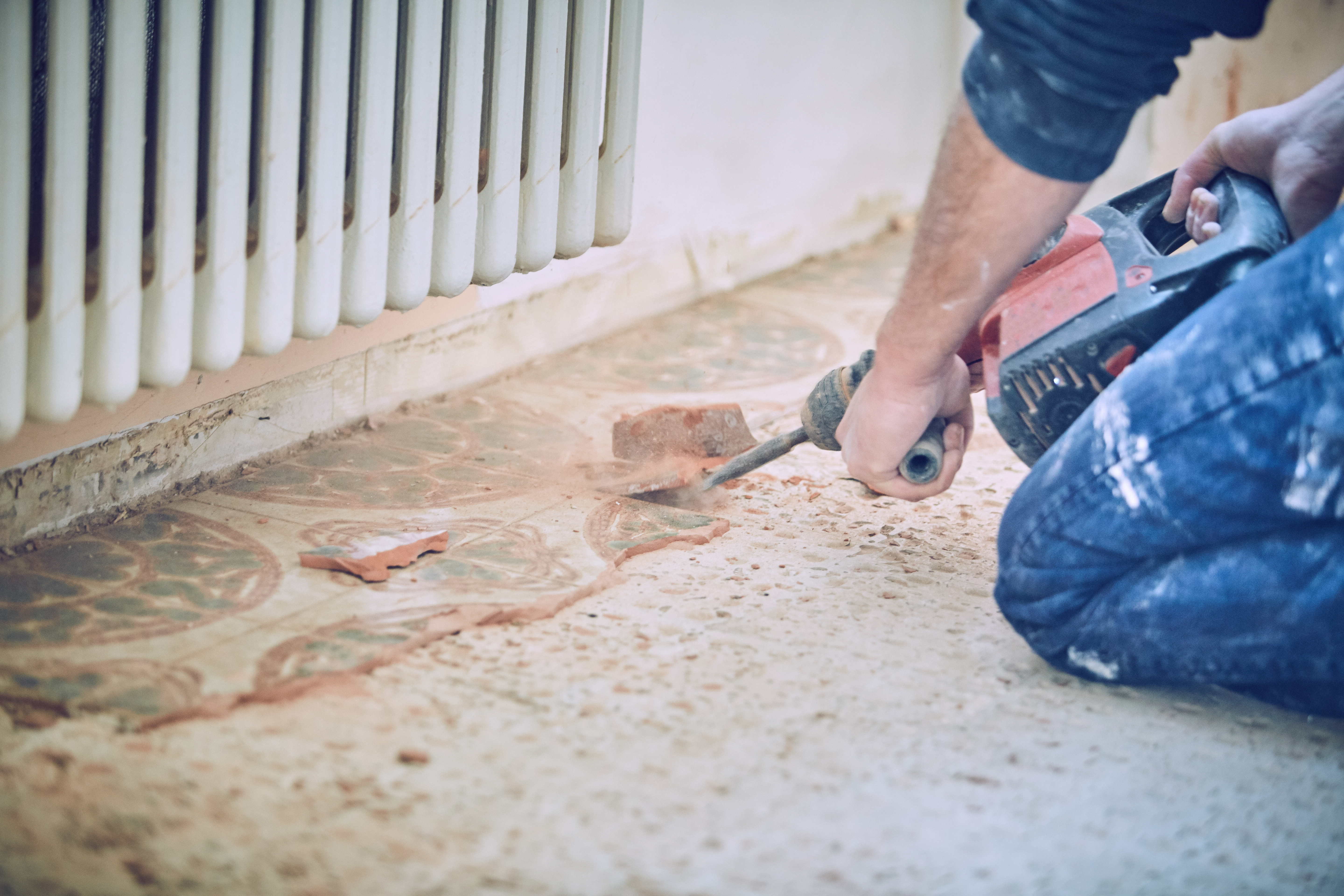 Marble Tile Removal in South Florida