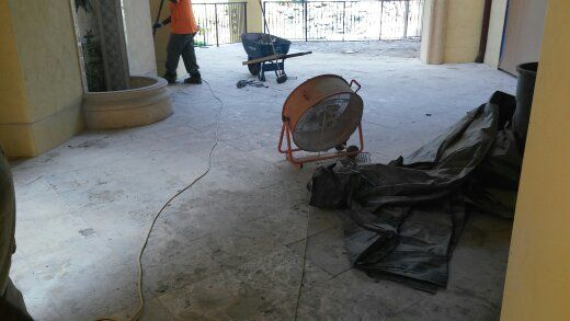 South Florida Marble Tile Removal