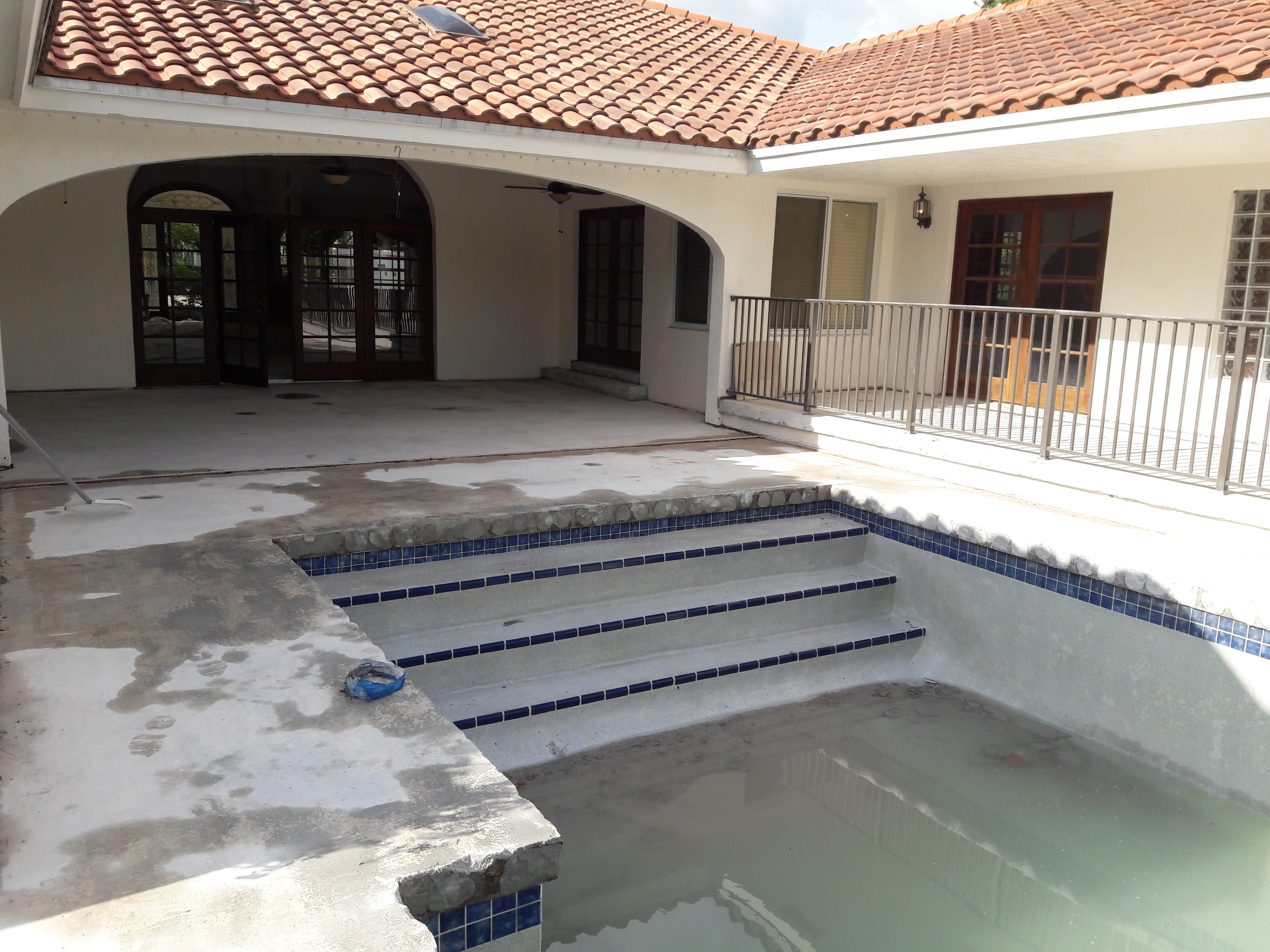 Process for Spanish Tile Removal in South Florida