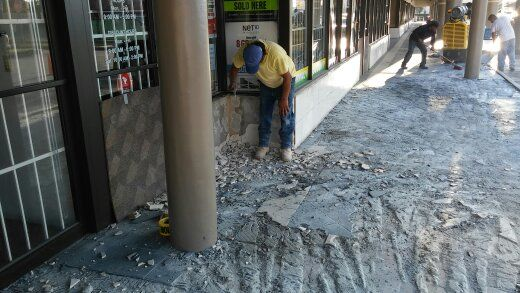 Process of Stone Tile Removal in South Florida